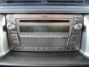 純正CT-W58オーディオ