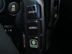 SPORT・NORMAL・ECONスイッチ