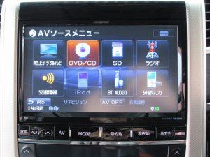 ALPINE VIE-X009 SDナビTV
