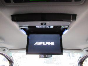 ALPINE PCX-R3500フリップダウンモニター