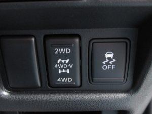 4WDモード、VDCスイッチ