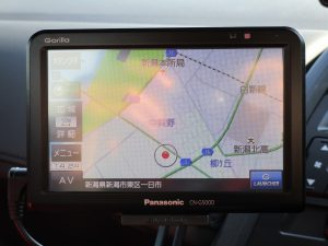 Panasonic CN-G500D メモリーナビTV