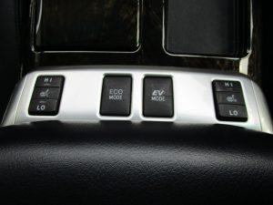 シートヒーター、ECO・EVモードスイッチ