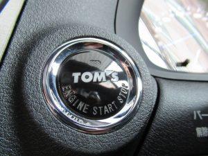 TOM`Sエンジンスタートボタン