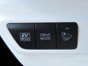 走行モード切替、車両接近通報装置スイッチ