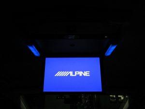 ALPINE フリップダウンモニター