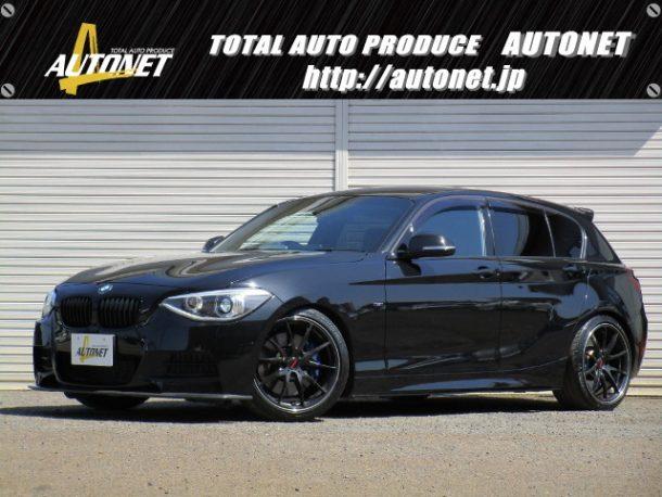 BMW 1シリーズ 【M135i】 3DDesignエアロ H&Rローダウン RAYS18インチAW 純正ナビ