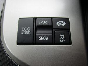 ECO、SPORT・SNOW、EV、TRCスイッチ
