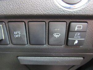 AFS、フロントガラス熱線スイッチ