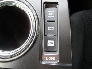 EV/ECO/PWRモードスイッチ