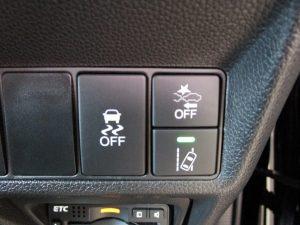 VSA、CTBA、路外逸脱抑制機能スイッチ