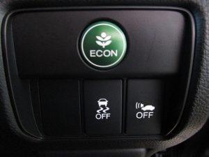 ECON、VSA、車両接近通報装置スイッチ