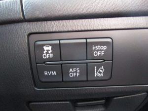 横滑り防止、i-stop、RVM、AFS、レーン逸脱システムスイッチ