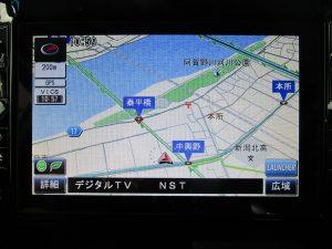 純正OP8インチメモリーナビ・TV
