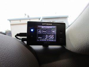 日本電気 SPIDER SPS-701レーダー探知機