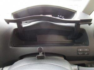 運転席前収納