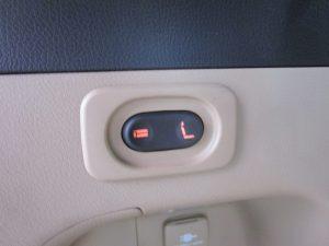 3列目電動床下格納シートスイッチ