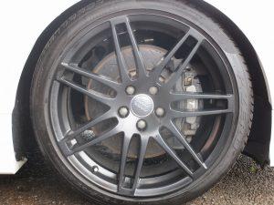 RSシリーズ純正19インチAW(マットブラック塗装)