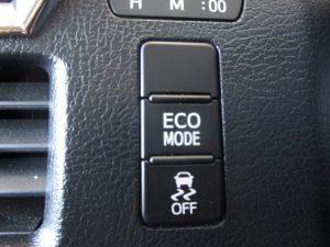 ECOMODE、横滑り防止装置スイッチ