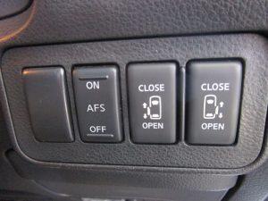 AFS、電動スライドドアスイッチ