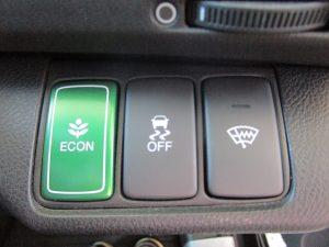 ECON、横滑り防止装置、フロントガラス熱線スイッチ