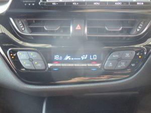 エアコンパネル・シートヒータースイッチ