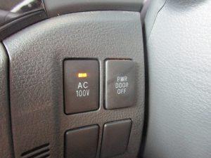 AC電源、電動スライドドアスイッチ
