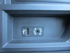 USB、AUX入力