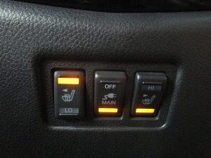 シートヒーター、AC電源スイッチ