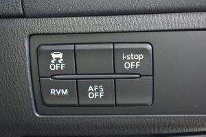 横滑り防止装置、アイドリングストップ、RVM、AFSスイッチ