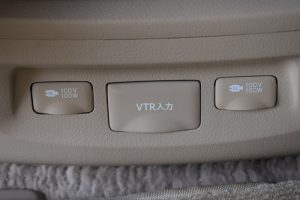 AC電源、VTR入力