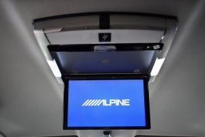 ALPINE10.2インチフリップダウンモニター