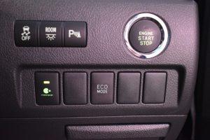 横滑り防止装置、室内灯、パーキングセンサースイッチ