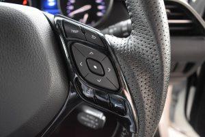 メーター内インフォメーションスイッチ、車線逸脱、レーダークルーズスイッチ