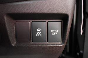 横滑り防止装置、CTBAスイッチ