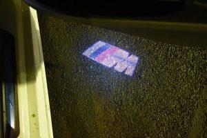 LEDドアプロジェクター