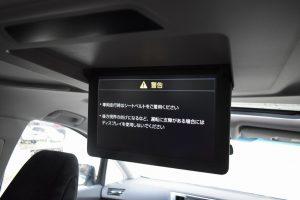 12.1型リヤシートエンターテインメントシステム