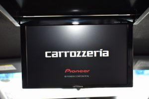 carrozzeriaフリップダウンモニター