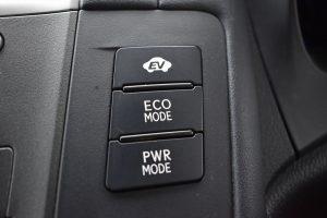 EV・ECOMODE・PWRMODEスイッチ
