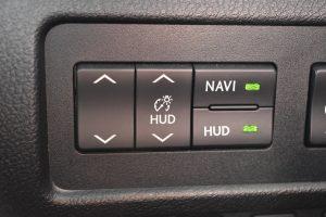 HUD操作スイッチ
