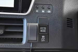 ECOMODE・横滑り防止スイッチ
