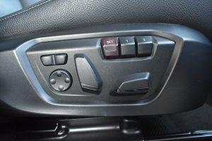 運転席パワーシート・シートメモリー