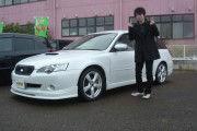 新潟県下越エリア  小林さん  購入した車:レガシィW