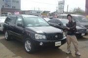 新潟県下越エリア  後藤さん  購入した車:クルーガー