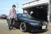 新潟県下越エリア  田中さん  購入した車:シルビア スペックR