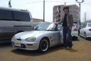 新潟県中越エリア  つねおさん  購入した車:カプチーノ