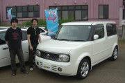 新潟県  樋口さん  購入した車:キューブ