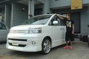 新潟県  渡辺さん  購入した車:ヴォクシー