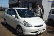 新潟県  小坂井さん  購入した車:フィット