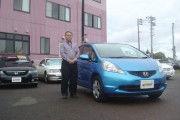 新潟県 大島さん 購入した車:フィット